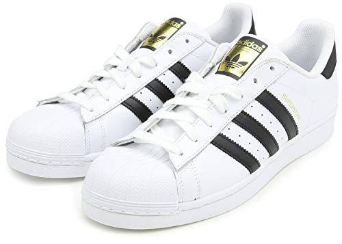 adidas Unisex-Erwachsene Superstar Low-Top, Weiß (Ftwr White/Core Black/Ftwr White), 38 EU 2