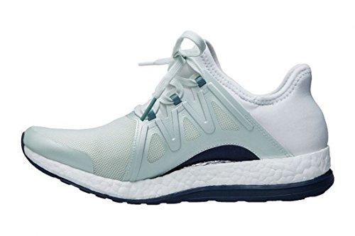Zapatillas De Running Adidas Performance Mujeres Pureboost Xpose, Verde Lino / Blanco