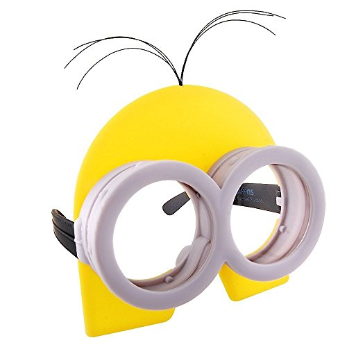 Sun-Staches Costume Sunglasses Kevin Yellow Minion Party Favors UV400