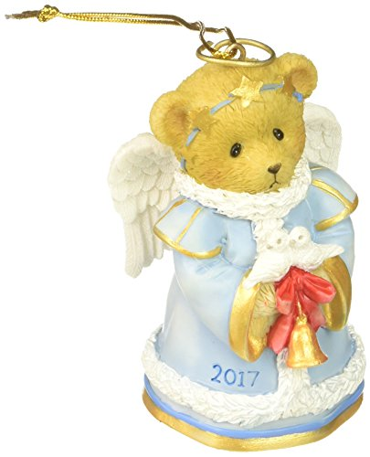 ar With Bell Dated Hanging Ornament (Cherished Teddies Bear)