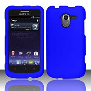 Blue Hard Cover Case for ZTE Avid 4G N9120