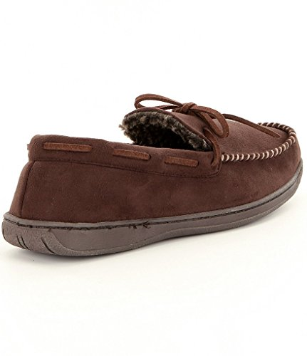 Roundtree & Yorke Micro Suede Trapper Slippers a10DWpi4