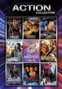 Action Collection: Volume 1 - 8 Movie Pack (The Base, The Base 2, On the Borderline, Hidden Agenda, Detention, The Punisher, Diplomatic Siege, Extreme Justice)