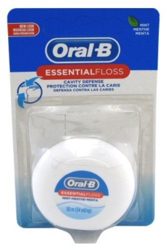 Oral B Essential Floss (Oral-B 54yd Floss Essential Mint Wax (6)