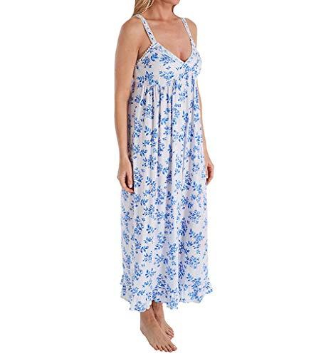 Eileen West Floral Pointelle Ballet Knit Nightgown, M, Multi Floral