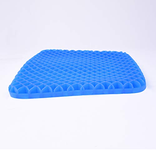 Gel Seat Cushion - Cool and Ventilated - Non-Slip , Seat Cushion - Relieves Sciatica and Coccyx Pain Housefar Photo #3
