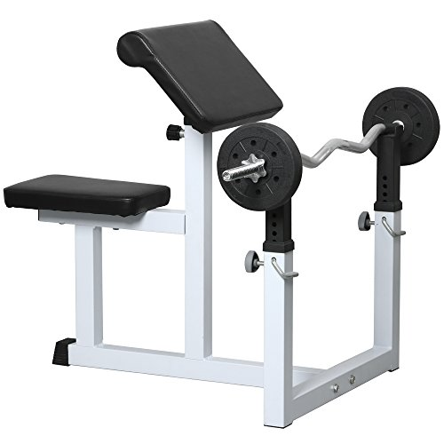 Yaheetech Commercial Preacher Arm Curl Weight Bench