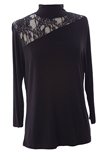 Lace Inset Silk - 9