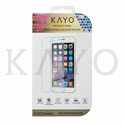 - iPhone 6S Plus Screen Protector KAYO Tempered Glass Screen Protector+Free Applicator 0.33mm[Scratch-Resistant][HD Clarity][Bubble-Free] for Apple iPhone 6S Plus/iPhone 6 Plus[5.5 Inch] (Glass -1PK)