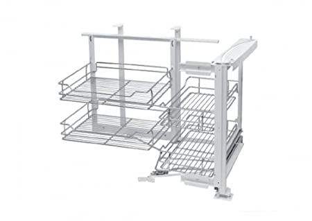 Soft Close Magic Corner Pull Out Storage System (Right Hand)