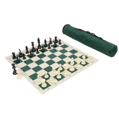 Wholesale Chess Archer Chess Set Combo - Forest Green