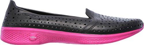 Skechers Performance Donna H2 Go Water Shoe Nero Caldo Rosa