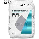 ABONO Soluble Fertilizante Nitrofoska 12-5-30. Saco de 25 Kg ...