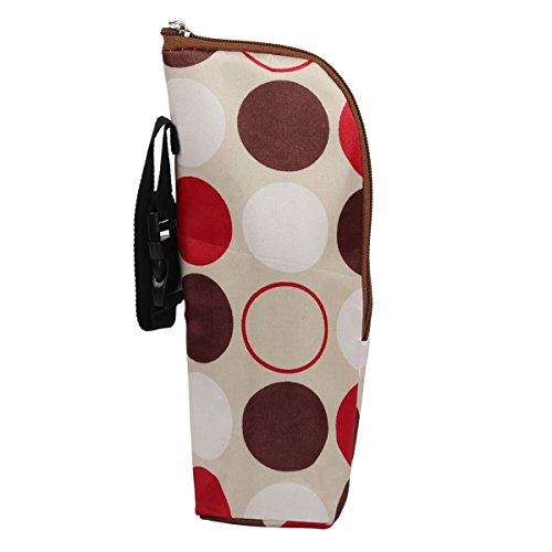 Latinaric Baby Warmhaltebox Kühltasche Isoliertasche für 350ml Milchflasche 24*8cm 8 Farbe