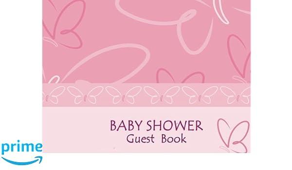 Baby Shower Guest Book: Activity journal, Message book