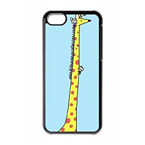 Protection Cover Hard Case Of Giraffe Cell phone Case For Iphone 5C