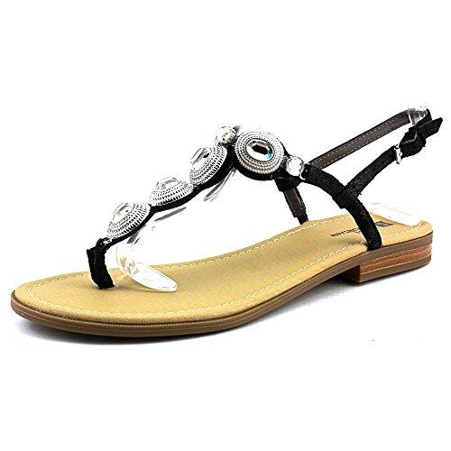 Mountain Glow Strap Split Black Toe Womens White Sandals Casual T Z4AnSZ