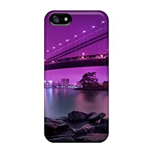 Cases For Iphone 5/5s With Manhattan Bridge New York City