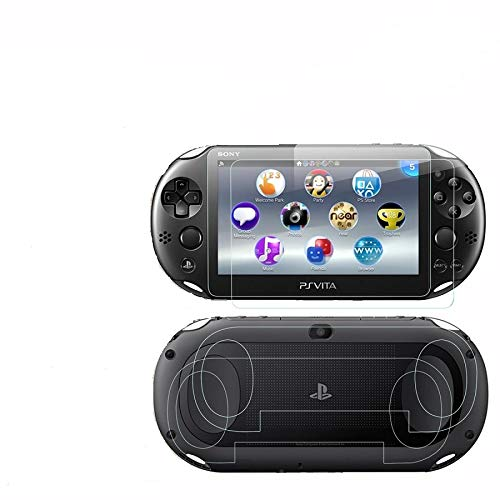Silicone Protect Case Cover Plus of LCD Screen Protector for Sony Playstation PS VITA 1000 PCH-1000 (Silicone Cover + Clear LCD Screen Protector) ...