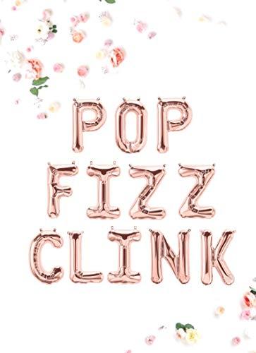 POP Fizz CLINK Balloons, 16