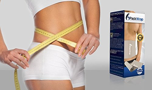 Six Pack Wrap – Adjustable Waist Trimmer and Weight Loss Ab Belt -- Helps Shed Excess Water Weight, Strengthen / Tone the Core, Burn Fat, & Support Better Posture ~DOCTOR APPROVED~