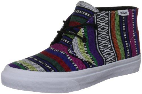 Bestelwagen Unisex Chukka Slanke Platte Sneaker - Guate Zwart