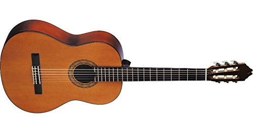Washburn Classical Series C5 Classical Acoustic Guitar, Natu