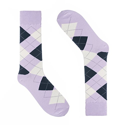 Cotton Grey Colorful Ivory One Pair Colorful Dress Sock Mason Striped Socks for Men Size 8-13