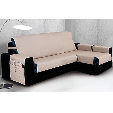 Cubre Chaise Longue Modelo SERPIS, Color MARFIL C/1, Medida 240cm · Brazo DERECHO