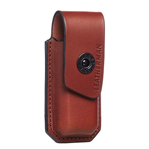 LEATHERMAN - Ainsworth Premium Leather Sheath for Multitools, Fits Charge+, Wave +, Wingman, Rebar & More