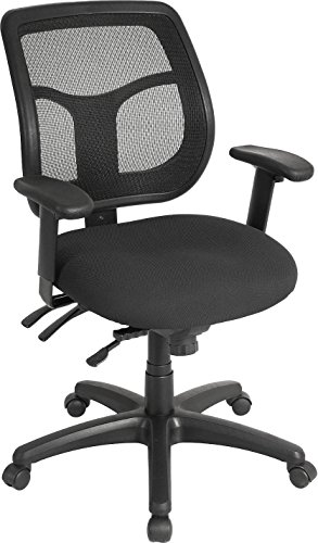 Eurotech Seating Apollo MFT9450 Multi function Swivel Chair, Black by Eurotech Seating