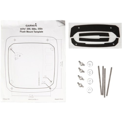 Garmin Flush Mount Kit for Echo 200c, 500c and 550c Fish Finders