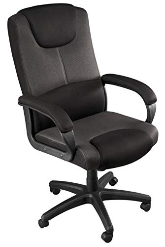 ylen Mesh Mid-Back Chair, Black ()