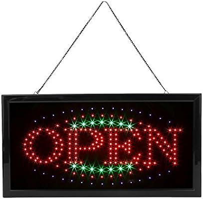 LED OPEN Cartel triángulos Forma abierto patrón Alemán) LED ...