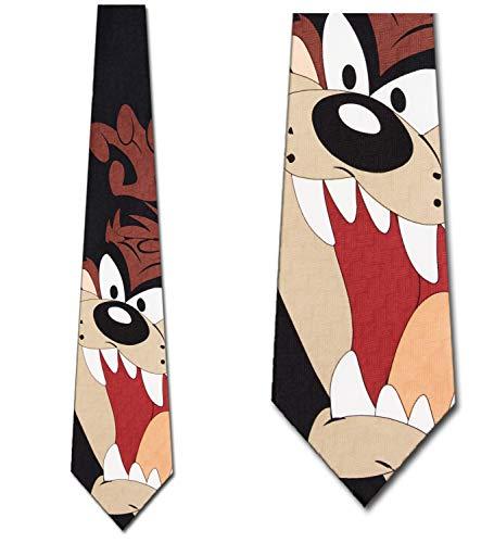 Looney Tunes Taz Close Up Tie - Mens Cartoon Neckties