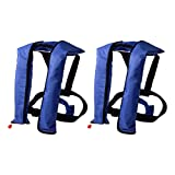 LOT 2~Automatic/Manuel Life Jacket Vest Auto Inflatable PFD Survival Floatation - CO2 tank included