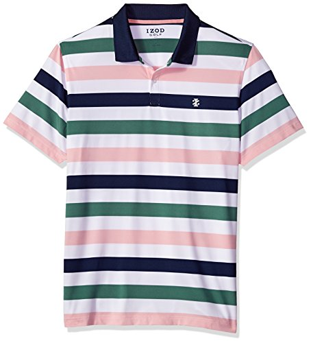 Florida Striped Shirt (IZOD Men's Performance Golf Polo, Club Blue, Large)