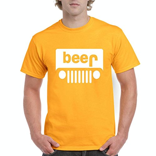 7c99ac75 Xekia Beer Jeep Funny Drinking Fashion People Best Friend Gifts Men's T-Shirt  Tee Small Gold - Buy Online in Oman. | Apparel Products in Oman - See  Prices, ...
