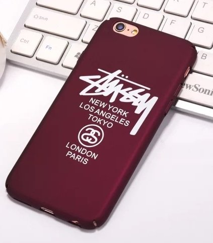 coque bordeaux iphone 8