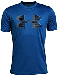 Boys' Tech Big Logo Solid T-Shirt