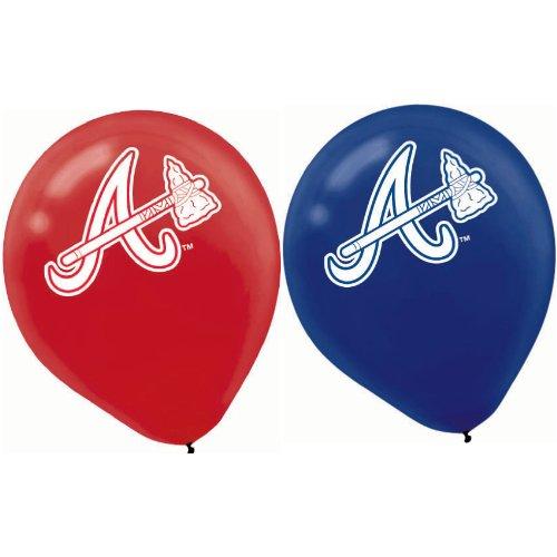 Sports and Tailgating MLB Party Atlanta Braves Printed