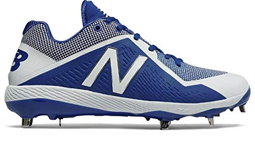 - New Balance Men's L4040v4 Metal Baseball Shoe, Royal/White, 5 D US