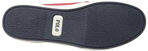 Polo Ralph Lauren Heren Faxon Laag Mesh Fashion Sneaker Rode Reflecterende Mesh