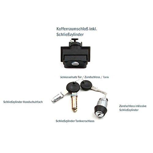 Chiavi per Auto ECD Germany Set Serrature Sistemo Chiusura Serratura