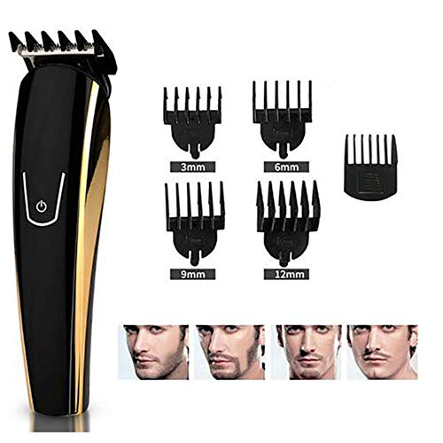 5-In-1 Hair Trimmer Rechargeable Electric Waterproof Beauty Set Hair Nose Beard Trimmer (Sharp Electric Hedge Trimmer)