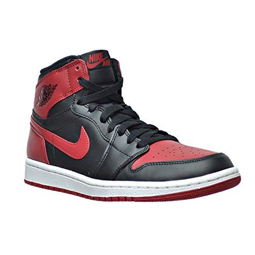 low priced 230b6 1af1d ... where to buy og sort sko retro nike varsity skinn rød air jordan i 1  steg