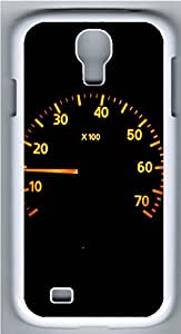 Samsung Galaxy S4 I9500 Cases & Covers - Calm Racer Speedometer Custom PC Soft Case Cover Protector for Samsung Galaxy S4 I9500 - White