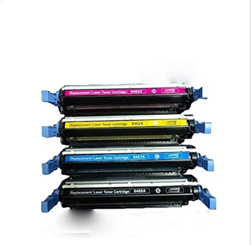 Y&Jack Compatible con la Impresora láser Color HP 4730mfp / 4730xsmfp Cartucho de tóner Color Q6460a