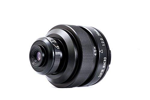 Mitakon 4.5X Super Macro Microscope Manual Lens 20mm f/2.0 for SONY E-mount Full Frame or APS-C by MITAKON