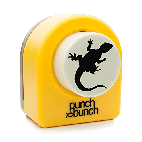 Punch Bunch Large Punch, Gecko (Punch Paper Designer)